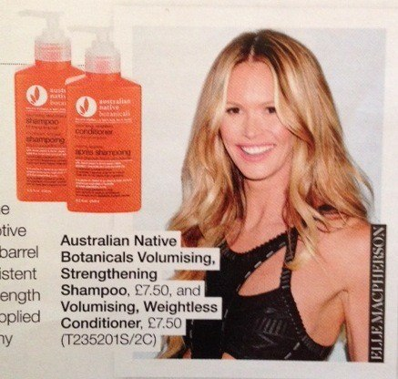 Australian Native Botanicals Press Media Elle Magazine