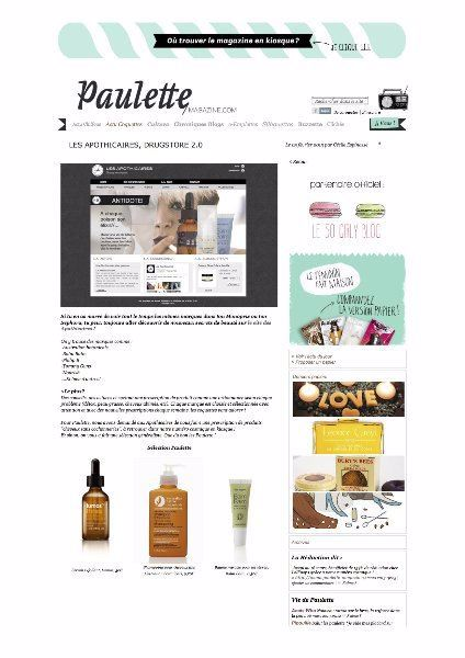 Australian Native Botanicals Press Media Paulette Magazine Les Apothicaires Drugstore 2-0