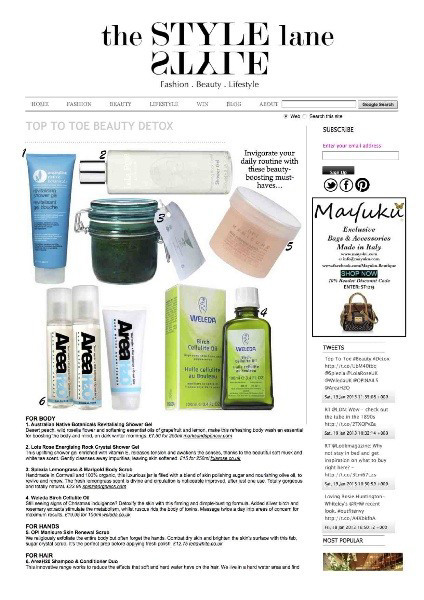Australian Native Botanicals Press Media Top To Toe Beauty Detox Skin Care Beauty The Style Lane
