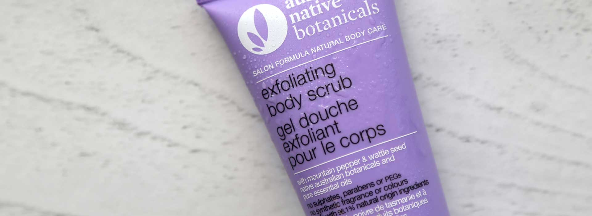 Australian Native Botanicals<br /> Exfoliating Body Scrub