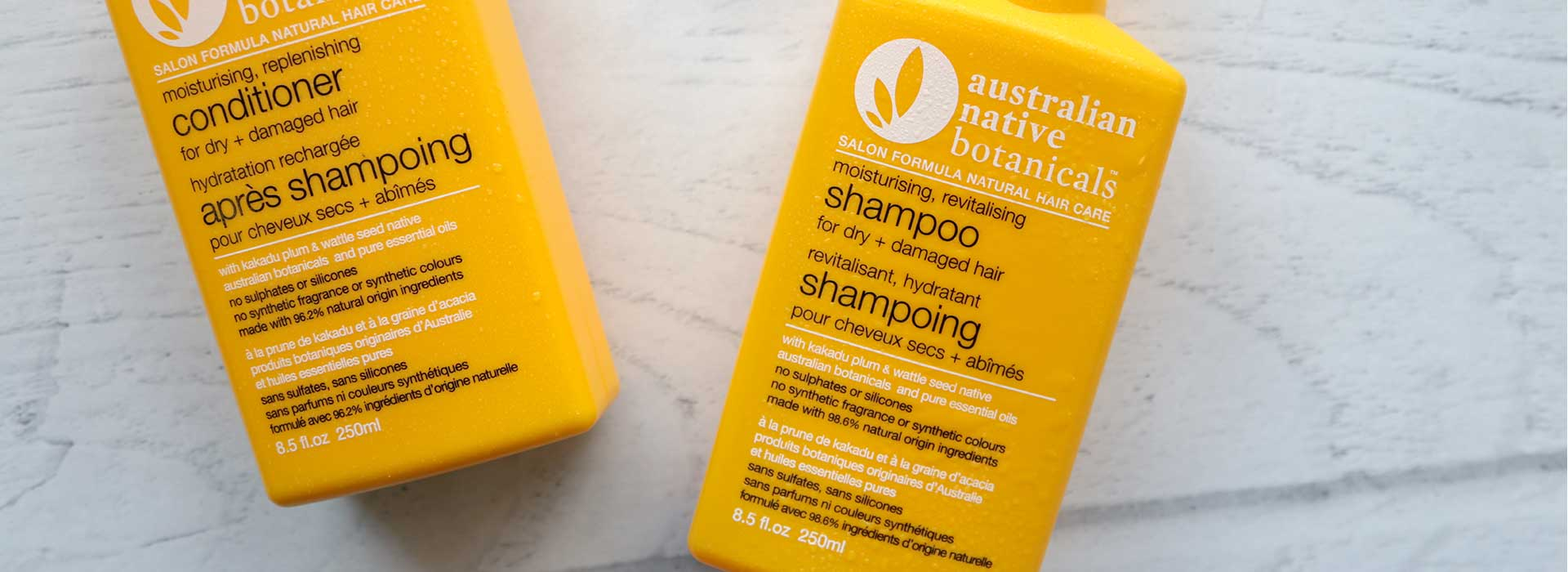 Australian Native Botanicals<br /> Moisturising Revitalising Shampoo<br /> for Dry + Damaged Hair