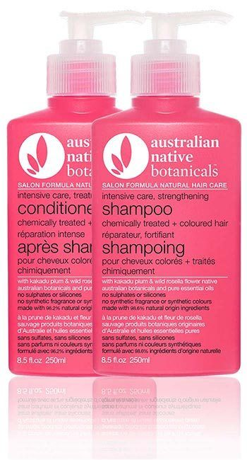 Australian Native Botanicals<br /> Intensive Care Strengthening Pack<br /> for Chemically Treated + Coloured Hair