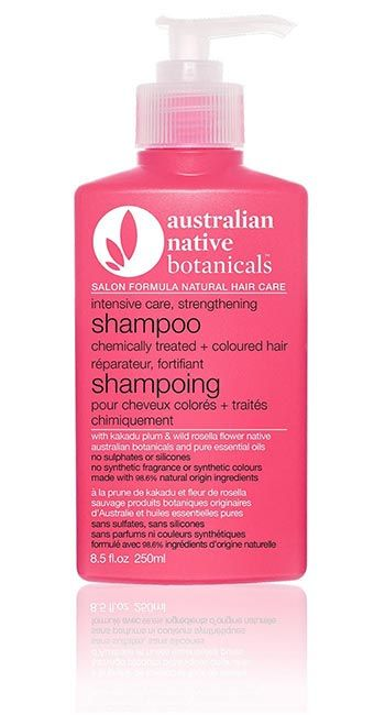 Australian Native Botanicals<br /> Intensive Care Strengthening Shampoo<br /> for Chemically Treated + Coloured Hair
