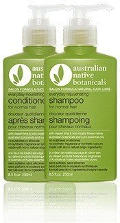 Australian Native Botanicals Rejuvenating and Nourishing Hair Care Pack 500ml