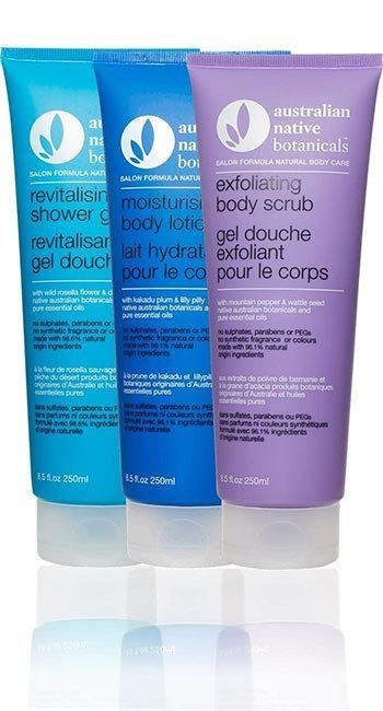 Australian Native Botanicals<br /> Revitalising Body Care Pack 250ml