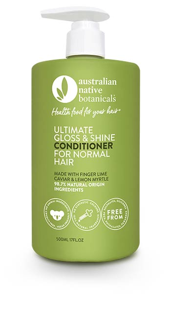 Australian Native Botanicals Ultimate Gloss & Shine Conditioner for Normal Hair