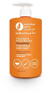 Australian Native Botanicals Volume & Body Boost Shampoo for Fine & Limp Hair
